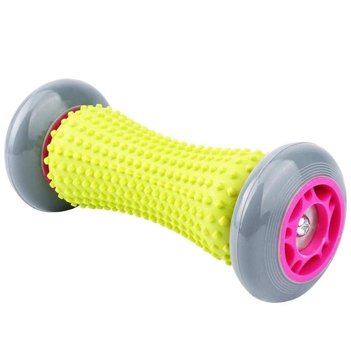 ラフト混乱させる価値のない足底筋膜炎とリフレクソロジーマッサージを緩和するために使用されるフットマッサージャー、フットマッサージボール、背中と脚のタイトな筋肉を回復するための深いツボ (Color : Grey)