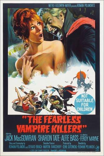 Poster 40 x 60 cm: Tanz der Vampire (englisch) von Everett Collection - hochwertiger Kunstdruck, neues Kunstposter