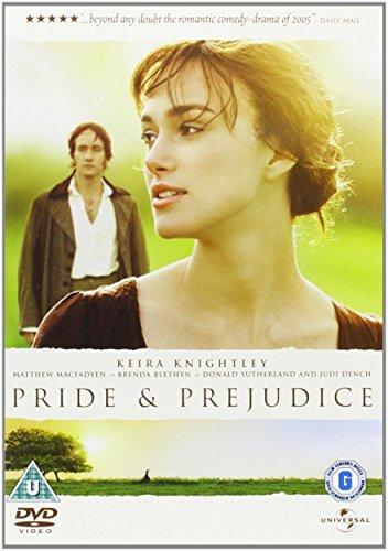 Pride & Prejudice Reino Unido DVD