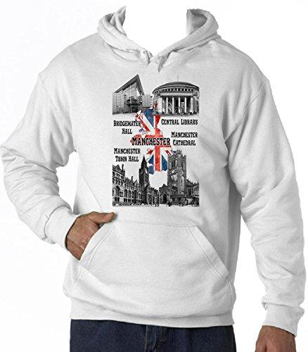teesquare1st United Kingdom Manchester Sudadera con Capucha T-Shirt