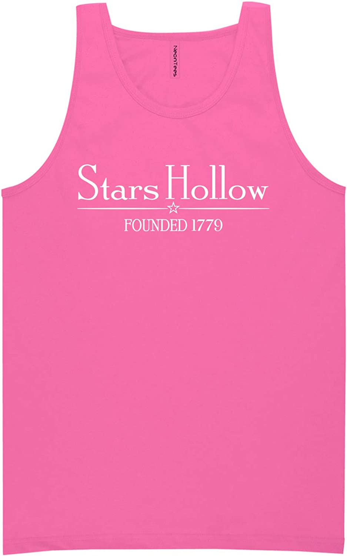 zerogravitee Stars Hollow Founded 1779 Neon Tank Top