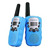 Product Image of the floureon Two Pack 22 Channel Walkie Talkies for Kids Children Two Way Radio...