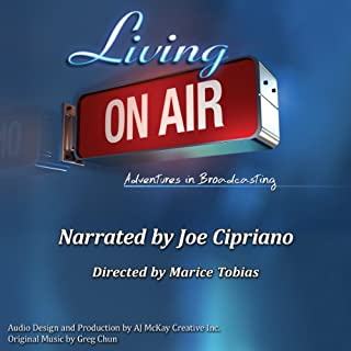 Living On Air audiobook cover art