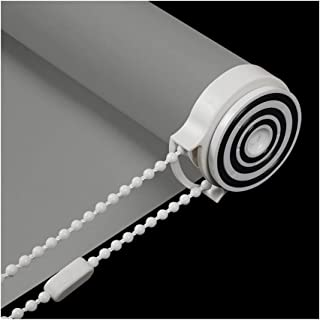 Roller Blinds Blackout Window Shades Punch Free Waterproof Venetian Blinds Roman Shades 99% Sunscreen, Custom Size (Color : A, Size : 47