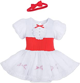 Disney Mary Poppins Costume Bodysuit for Baby Size 18-24 MO Multi
