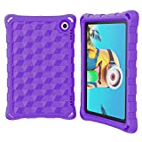 All-New H D 8 / H D 8 Plus Tablet Covers(Compatible with 10th Generation Tablets, 2020 Releases) - DJ&RPPQ Anti Slip Shockproof Light Weight Protective Cases- Purple