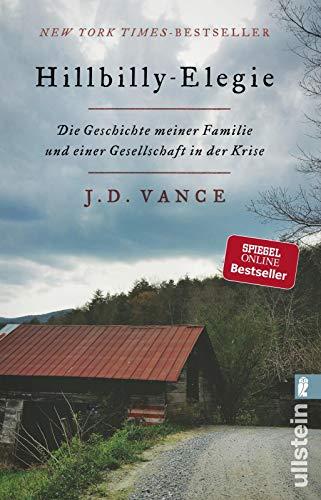 Buchseite und Rezensionen zu 'Hillbilly-Elegie: Die Geschichte meiner Familie und einer Gesellschaft in der Krise' von J. D. Vance
