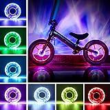 Accesorios de Bicicleta para niños,Luces de neumáticos,Radios de Bicicleta,Luces de radios,Luces de Rueda Recargables,Rueda de Bicicleta con,Luces Rueda Bicicleta,Luces Rueda Bicicleta Recargables