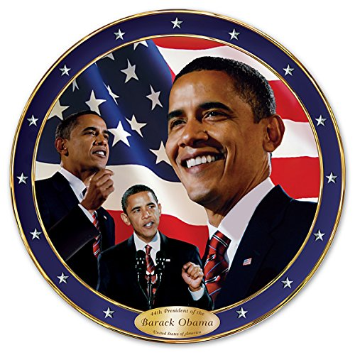 The Bradford Exchange Yes We Can Barack Obama Commemorative Collector Plate