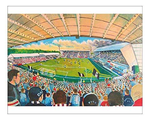 Media Storehouse 10x8 Print of East End Park Stadium Fine Art - Dunfermline Athletic FC (14645913)