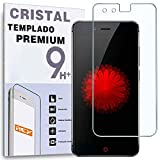 REY Protector de Pantalla para ZTE Nubia Z11 Mini S, Cristal Vidrio Templado Premium