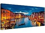 Wallfillers Kunstdruck auf Leinwand Venedig Italien für