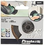 X26075–XJ Piranha Diamètre: 85 mm/Riff Lame de scie circulaire HM