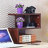 Briefablage Schubladenbox Schubladenschrank CD Lagerung Regal DVD Desktop-Bücherregal Regal CD Disc-Halter Computer-Schreibtisch Storage Rack Kindergarten Kinderbücherregal (Color : #4)