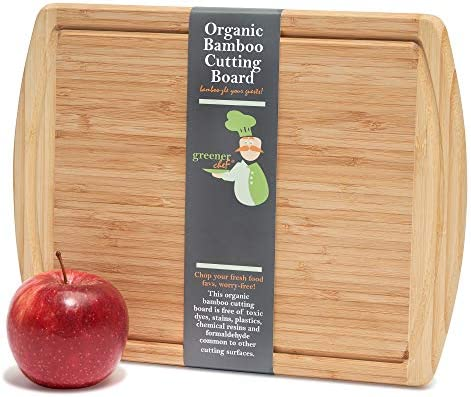 Greener Chef Small Cutting Board for Kitchen 12 x 9 Inches Perfect for Smaller Jobs Bamboo Small product image