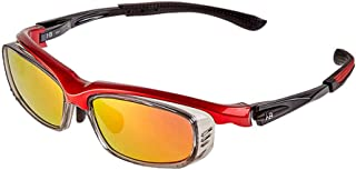 ZX スキー用メガネ 屋外 モーション 保護 広角の 額縁 カラーミラー (色 : T-1)
