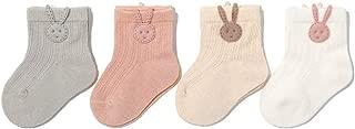 Needoo Bear OO Baby Socks Newborn For Babies Toddler Non Skid Ankle For Boys Girls Infant