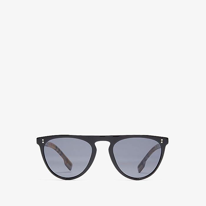 Burberry  0BE4281 (Black/Polarized Grey) Fashion Sunglasses