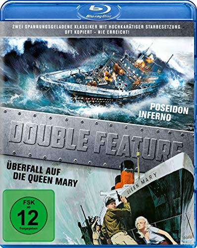 Double Feature - Poseidon-Inferno/Überfall auf der Queen Mary [Blu-ray]