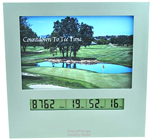 DuraForge 2020 Retirement Countdown Clock with Large Digital Display, Day Timer are Fun Golf Gadgets and Gifts for Firemen Police Military Vets Count Down The Calendar to Xmas Graduation or Any Event