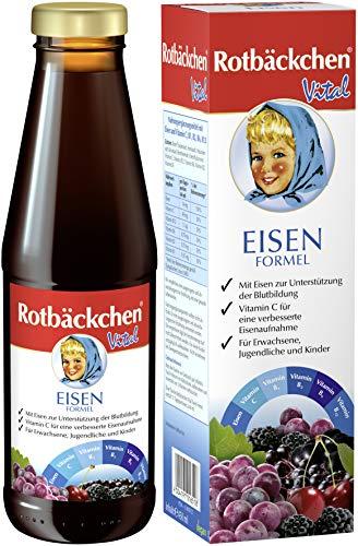 Rotbäckchen Vital Eisen Formel, 3er Pack (3 x 450 ml)