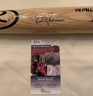 Andrew Benintendi Autographed Signed Rawlings Bat Boston Red Sox JSA