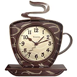 WESTCLOX 32038 Coffee Time 3-Dimensional Wall Clock by Westclox