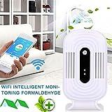 ELECTROPRIME 1FD9 Air Quality Detector ABS WiFi Formaldehyde Detector CO2 Analyzer Portable