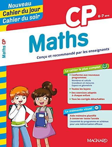 Cahier d'exercices Maths CP