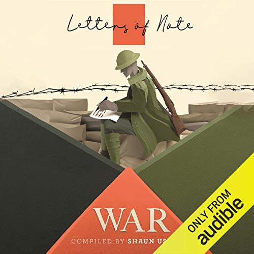 Letters of Note: War cover art
