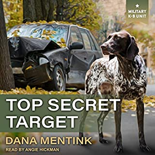 Top Secret Target audiobook cover art