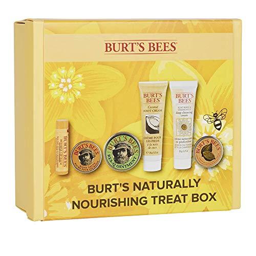 Burt's Bees Naturally Nourishing Treat Box Moisturising 6 Piece Gift Set, 0.15 kg