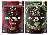 Wellness CORE Grain Free Marrow Roasts 2 Flavor Variety Bundle: (1) CORE Hearty Beef, (1) CORE Savory Turkey, 8 Oz. Ea.