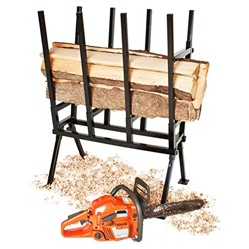 Holzsägebock Sägebock Sägegestell Holzbock Sägehilfe Stützbock Sägeständer Kettensäge, Brennholz Belastbar bis 400 kg