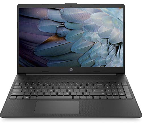 HP 15s-eq1540sa Laptop, AMD Athlon Silver 3050U @ 2.30GHz (up to 3.20GHz), 4GB, 128GB, Windows 10 Home, Black