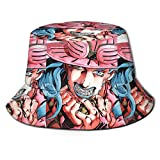 Gyro Zeppeli JoJo's Bizarre Adventure Steel Ball Run Men Women Bucket Hat Fisherman Summer Sun Cap Travel Beach