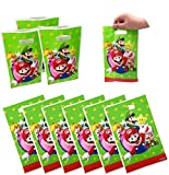 50 Packs Super Mario Party Gift Bags, Super...