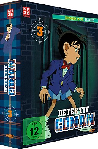 Detektiv Conan - TV-Serie - Vol.3 - [DVD]