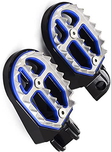 HSFD PORTAFICA del PIEDO di Motore PED Pedale PEDIALE per Husqvarna Te Fe TC FC TX FX 65 85 125 150 250 350 390 450 490 501 701 Enduro Super Moto Supermoto (Colore : Nero)