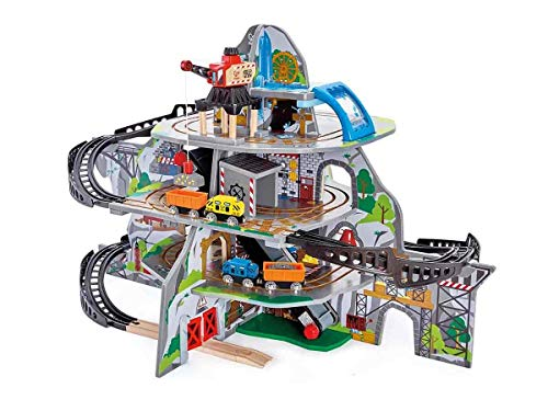 Hape Wooden Railway Mountain Set