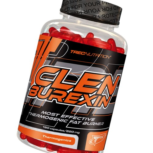 Clenburexin 180Caps–termogénica quemadores de Grasa y pérdida de Peso–TREC Nutrition–más eficaz–-