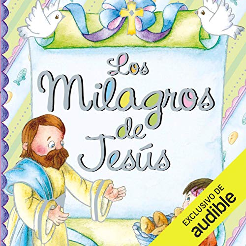 Diseño de la portada del título Los milagros de Jesús