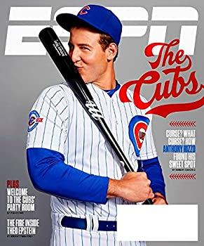 ESPN Magazine October 3 2016 Chicago Cubs ANTHONY RIZZO Theo Epstein Cuba