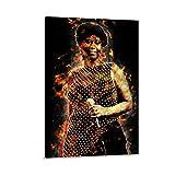CHENGNING Aretha Franklin 4 Poster, dekoratives Gemälde,