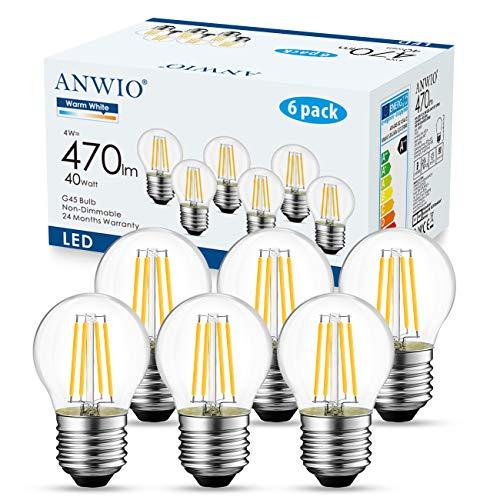 ANWIO AN-G45-1C 4.5W 220-240V E27 2700K