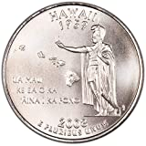 2008 D Satin Finish Hawaii State Quarter Choice Uncirculated US Mint