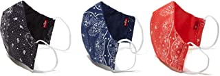 Levi's Re-Usable Reversible Face Mask (Pack of 3)