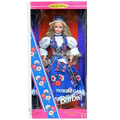 Norwegian Barbie Dolls of the World Collection