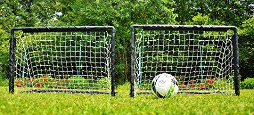 POWERSHOT Paire de Mini buts de Foot PVC 0,9 x 0,6 m - Pratique Loisir pour Jeunes footballeurs