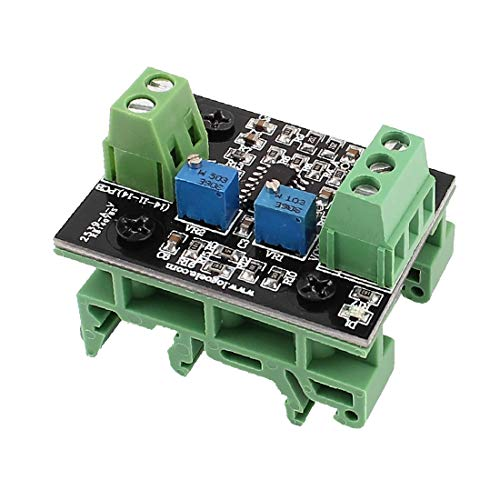 X-Dr Strom-zu-Spannungswandler-Modul 4-20mA Schalten Sie 0-3.3V / 0-5V / 0-10V / 0-15V (38cf94820cdff587acc4e7bc43d6caee)